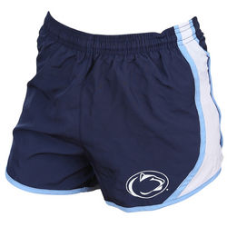 Women's Penn State Shorts Navy And Light Blue Nittany Lions (PSU)