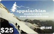 Appalachian Outdoors $25 Gift Card APPGIFT25 (Appalachian Outdoors)