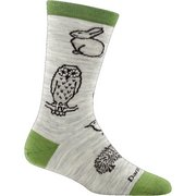 Darn Tough Women's Woodland Creatures Crew Light Sock 1678 (Darn Tough)