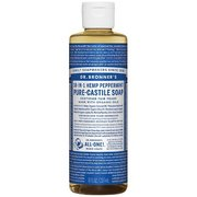 Dr. Bronner's Peppermint Liquid Soap - 8 oz 371508 (Dr. Bronner's)