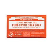 Dr. Bronner's Tea Tree Bar Soap 371585 (Dr. Bronner's)