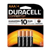 Duracell CopperTop AAA Batteries 4pk 147153 (Duracell)