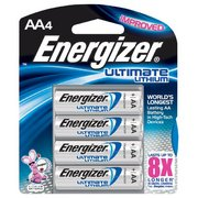 Energizer Ultimate Lithium AA Batteries 4pk 353141 (Energizer)