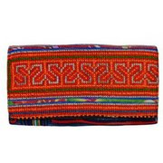 Global Girlfriend Recycled H'Mong Textile Clutch 1228 (Global Girlfriend)