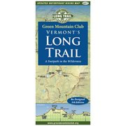 Green Mountain Club Vermont's Long Trail Map 789113 (Green Mountain Club)