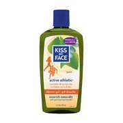 Kiss My Face Active Athletic Shower & Bath Gel 1410632 (Kiss My Face)