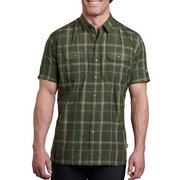 Kuhl Men's Response Button Up Plaid Shirt 7153 (Kuhl)