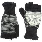 Manzella Productions Women's Snow Star Convertible Gloves O603W (Manzella Productions)