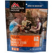Mountain House Italian Style Pepper Steak with Rice and Tomatoes 53129 (Mountain House)