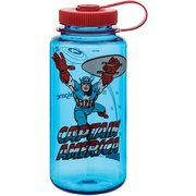 Nalgene Captain America Wide Mouth 1 Qt Water Bottle 342382 (Nalgene)