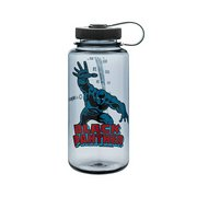 Nalgene Tritan 32oz Wide Mouth Water Bottle, Black Panther 61045 (Nalgene)