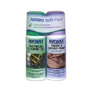 Nikwax Footwear DuoPack Fabric & Leather 129 (Nikwax)