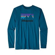 Patagonia Men's Long-Sleeved Shop Sticker Cotton T-Shirt 39040 (Patagonia)