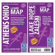 Purple Lizard Pub. Athens Ohio Map ATHENSOHIO (Purple Lizard Pub.)
