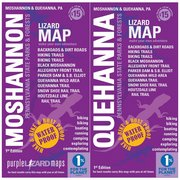 Purple Lizard Pub. Moshannon & Quehanna Lizard Map MOSHANNONQUEHANNA (Purple Lizard Pub.)