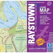 Purple Lizard Pub. Raystown Lake Trail Map RAYSTOWN (Purple Lizard Pub.)