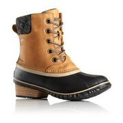 Sorel Women's Slimpack II Waterproof Fleece Lined Lace Boots 1702251 (Sorel)