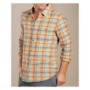 Toad & Co Men's Cuba Libre Plaid Long-Sleeve Button Up Shirt T2252402 (Toad & Co)