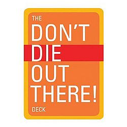Don't Die Out There Deck Playing Cards