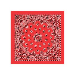 Red Cotton Bandana