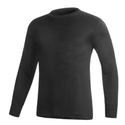 Men's Silk Underwear L/S Top